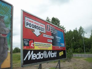 Billboard reklamowy Wrocław